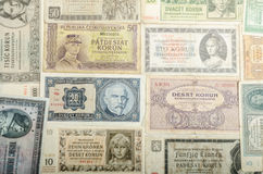 Free Old Czech Banknotes, Money Stock Photography - 46358852