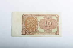 Old Czech banknotes, money Royalty Free Stock Image