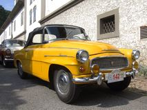 Old Czech cabriolet from 50s, Skoda Felicia Royalty Free Stock Photo