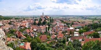 Old Czech city Royalty Free Stock Images