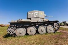 Old Czech tank LT vz. 38 - PzKpfw 38(t) Stock Photos
