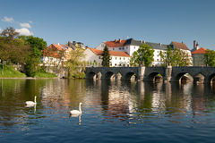 Old Czech Town Royalty Free Stock Photography