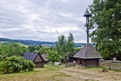 Old Czech village Royalty Free Stock Images