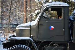 Old czechoslovak military truck Praga V3S Stock Photos