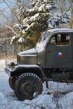 Old czechoslovak military truck Praga V3S Stock Images