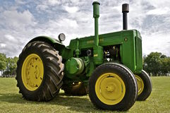 Old D John Deere is restored Royalty Free Stock Images