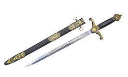 Old dagger. copy Royalty Free Stock Photo
