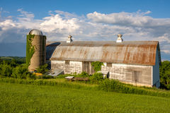 Old Dairy Barn Stock Photography