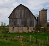 Old Dairy Barn Royalty Free Stock Photos