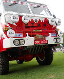 Old Dakar truck, Polish Star Royalty Free Stock Photo