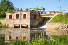 Old dam Royalty Free Stock Photography