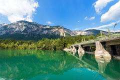 Old Dam on the Gail River - Austria Royalty Free Stock Image