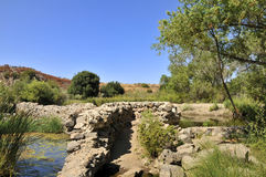 Old dam at Mission Trail Royalty Free Stock Images