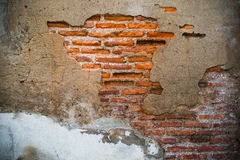 Old and damage brick wall use as abstract background ,backdrop a Royalty Free Stock Images