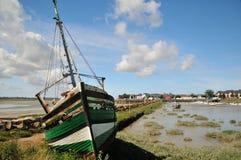 Old damaged boat Royalty Free Stock Photo