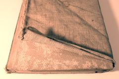 Old damaged book Royalty Free Stock Photography