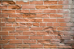 Old damaged brick wall Royalty Free Stock Photography