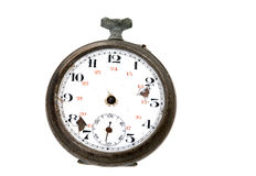 Old and damaged clock Stock Photography