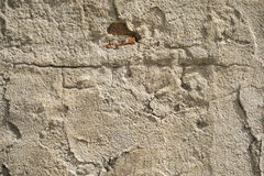 Old damaged concrete wall Royalty Free Stock Image