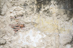 Old damaged concrete wall Stock Photography