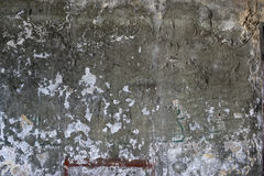 Old damaged concrete wall Royalty Free Stock Photo