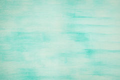 Old Damaged Cracked Paint Wall, Grunge Background, turquoise color Stock Photo