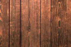 Old damaged grunge hardwood panel background surface texture Royalty Free Stock Image