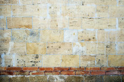 Old damaged grunge wall background Stock Photography
