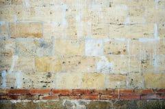 Old damaged grunge wall background Stock Photography