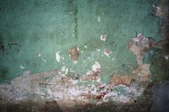 Old damaged grunge wall background. Or texture abstract aging ancient pattern retro vintage antique architecture art backdrop blank border broken brown cement stock images