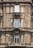 Old damaged house in Budapest Royalty Free Stock Photos