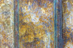 Old damaged rusty metal background. texture of rusty iron.  Royalty Free Stock Photo