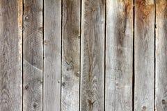 Old damaged spruce planks Stock Image