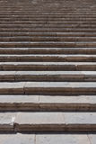 Old damaged stone staircase, up and down Royalty Free Stock Photography