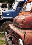 Old Damaged Trucks Royalty Free Stock Images