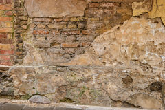 Old and damaged wall. Stock Photography