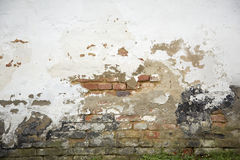 Old, damaged wall Royalty Free Stock Photos