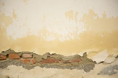 Old, damaged wall Royalty Free Stock Photography