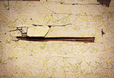 Old Damaged Wall or Reed Stock Image