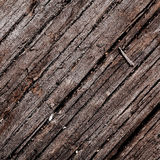 Old damaged wood background texture Stock Images