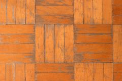Old damaged wooden parquet. texture Stock Image