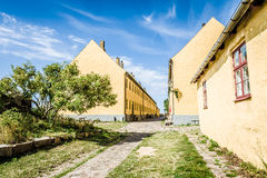 Old danish buildings Stock Photography
