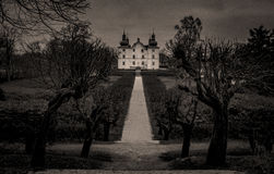 The old Danish castle. Stock Photography