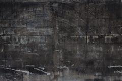 Old dark brick background. Background,old dark brick texture Stock Photo