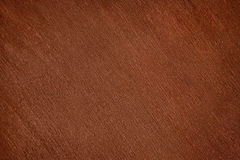 Old dark brown varnished wood close up Stock Photography