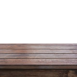 Old dark brown wood table top Stock Photo
