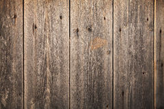 Old dark brown wooden wall, background texture Royalty Free Stock Photos