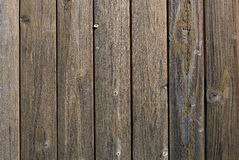Old dark brown wooden wall Royalty Free Stock Photo