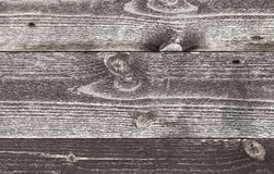 Old dark brown wooden wall surface Stock Photo