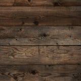 Old dark floorboard wood grain background square format. Old dark floorboard wood background square format Stock Photography